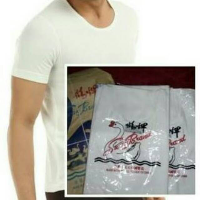 harga Kaos oblong  swan Shopee.co.id