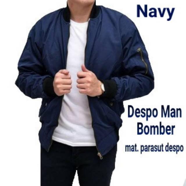 Jaket Bomber Despo Polos Cowok  d5e9a799c5