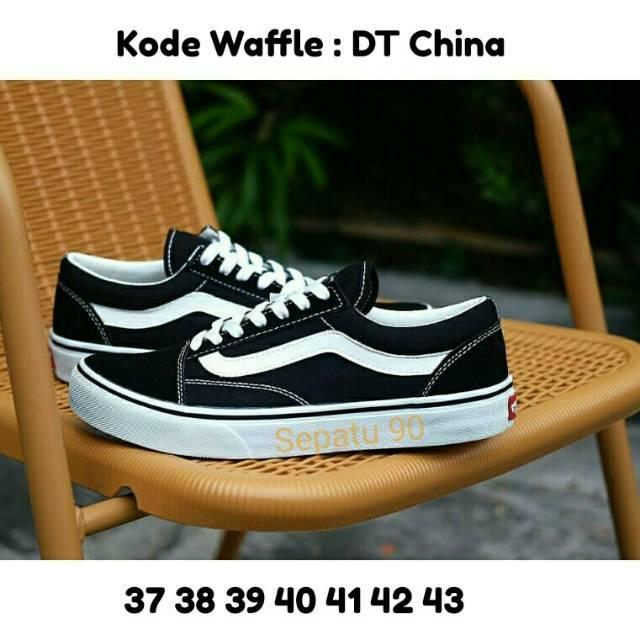 2457197ef7 SEPATU VANS OLD SKULL BLACK   HITAM   GRADE ORI   MADE IN VIETNAM CHINA