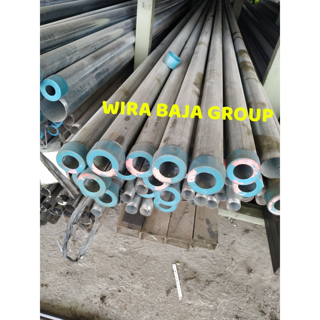 Harga Besi Hollow Galvanis 1 5x1 5 Tebal 1 2mm Asia Toko Besi