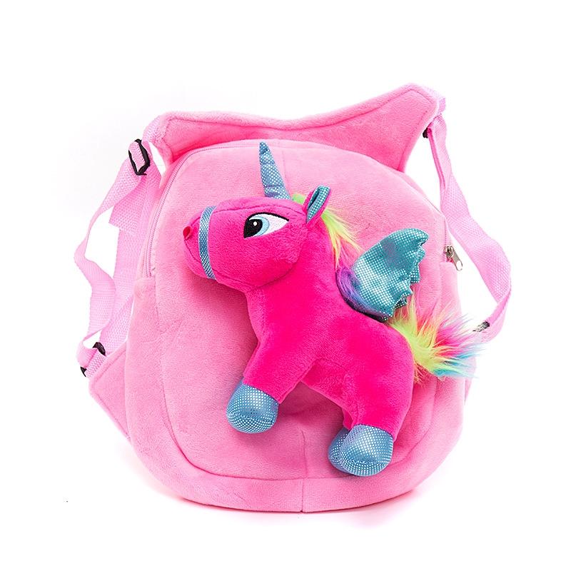 My Little Pony Tas Ransel Anak Anak Bergambar Kuda Poni Kartun 3d Shopee Indonesia