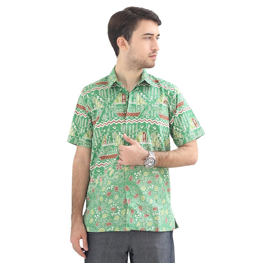 Model Baju Batik Pria Cap Asli Lampung Berkualitas - Zallatra C3 ... 738f6e6ba4