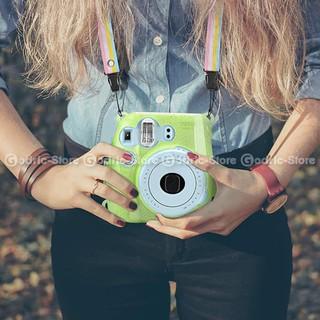 Fujifilm Hardcase Glitter Color Polaroid Case Instax Mini 8 / 9 Casing - Hijau Muda | Shopee Indonesia
