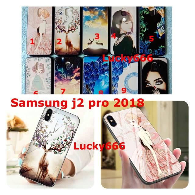 Soft Case Motif Samsung Galaxy J2 Pro 2018 Silikon Samsung J2pro Shopee Indonesia