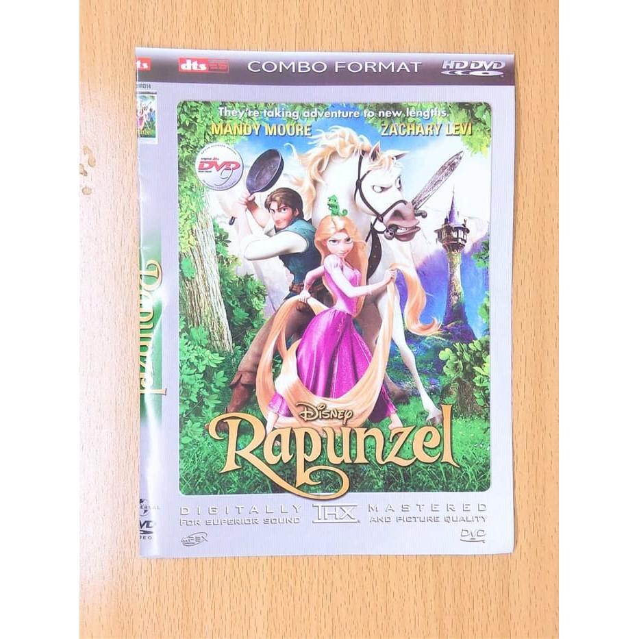 New Kaset Dvd Video Film Anak Terlaris Disnep Rapunzel Shopee Indonesia
