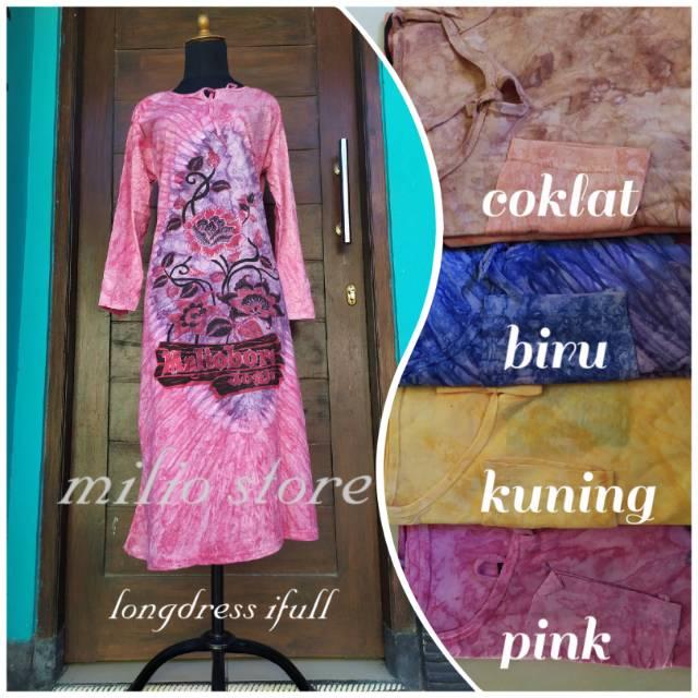 Longdress Batik Blackswet Daster Ibu Menyusui Daster Murah Grosir Baju Murah Daster Batik Jogja