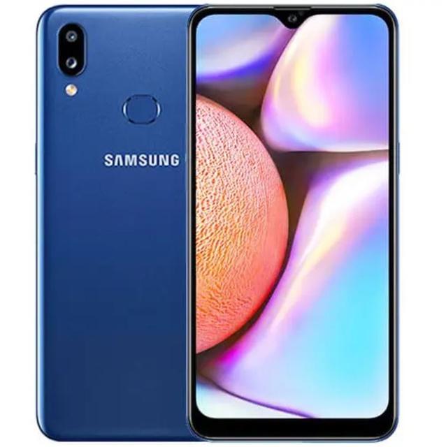 Samsung Galaxy A10s 2GB / 32GB - Tactile Blue (SM-A107FDBDXID)