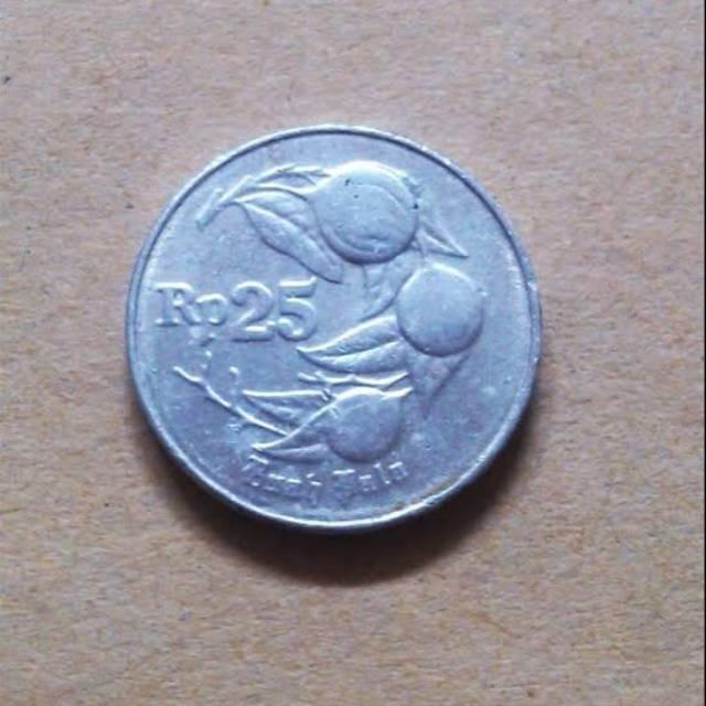 Uang logam 25 rupiah