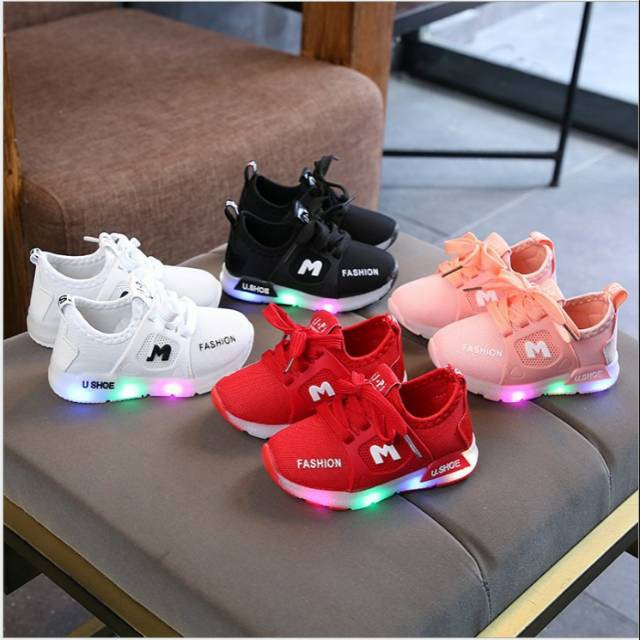 Sepatu Boots Anak Kids Winter Boots Pink Polka Usia 1 3 Tahun