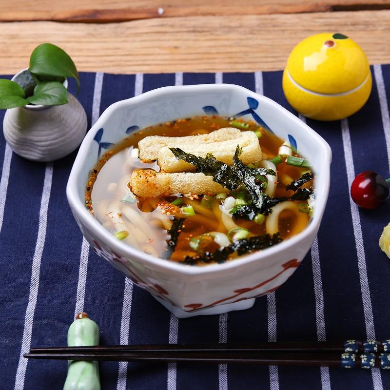Mangkuk Desain Alien Pull Bahan Keramik Gaya Jepang Untuk Dapur