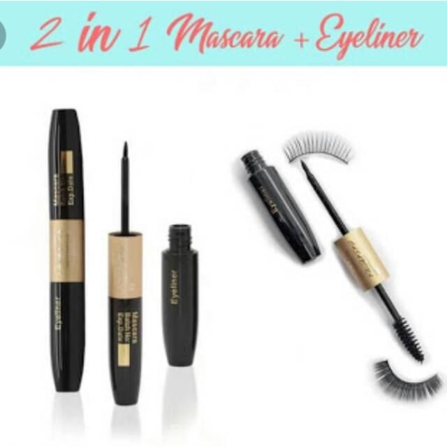 Casandra 2in1 eyeliner &mascara waterproof