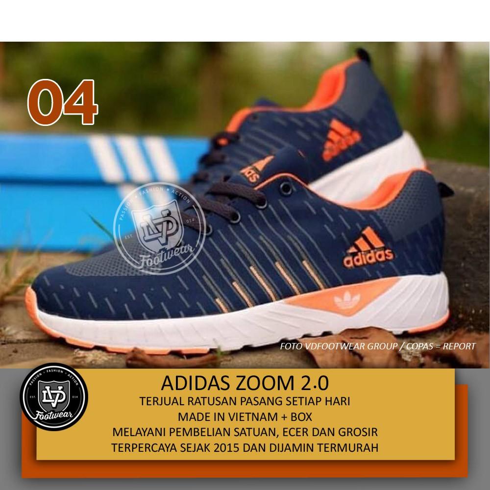 UAW Shoes Official - SEPATU ADIDAS ZOOM FLYKNITE I Sepatu Sneakers Olahraga  Running Jogging Sport  f68dcda5e6