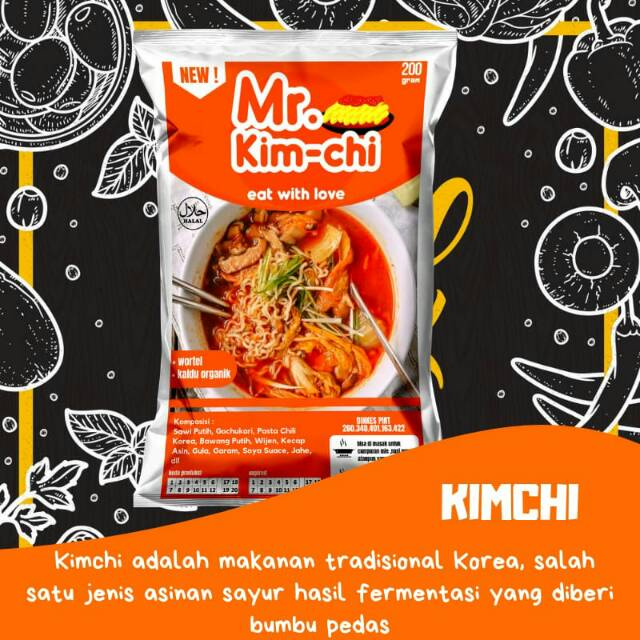 Mr Kimchi Makanan Halal Khas Korea Shopee Indonesia