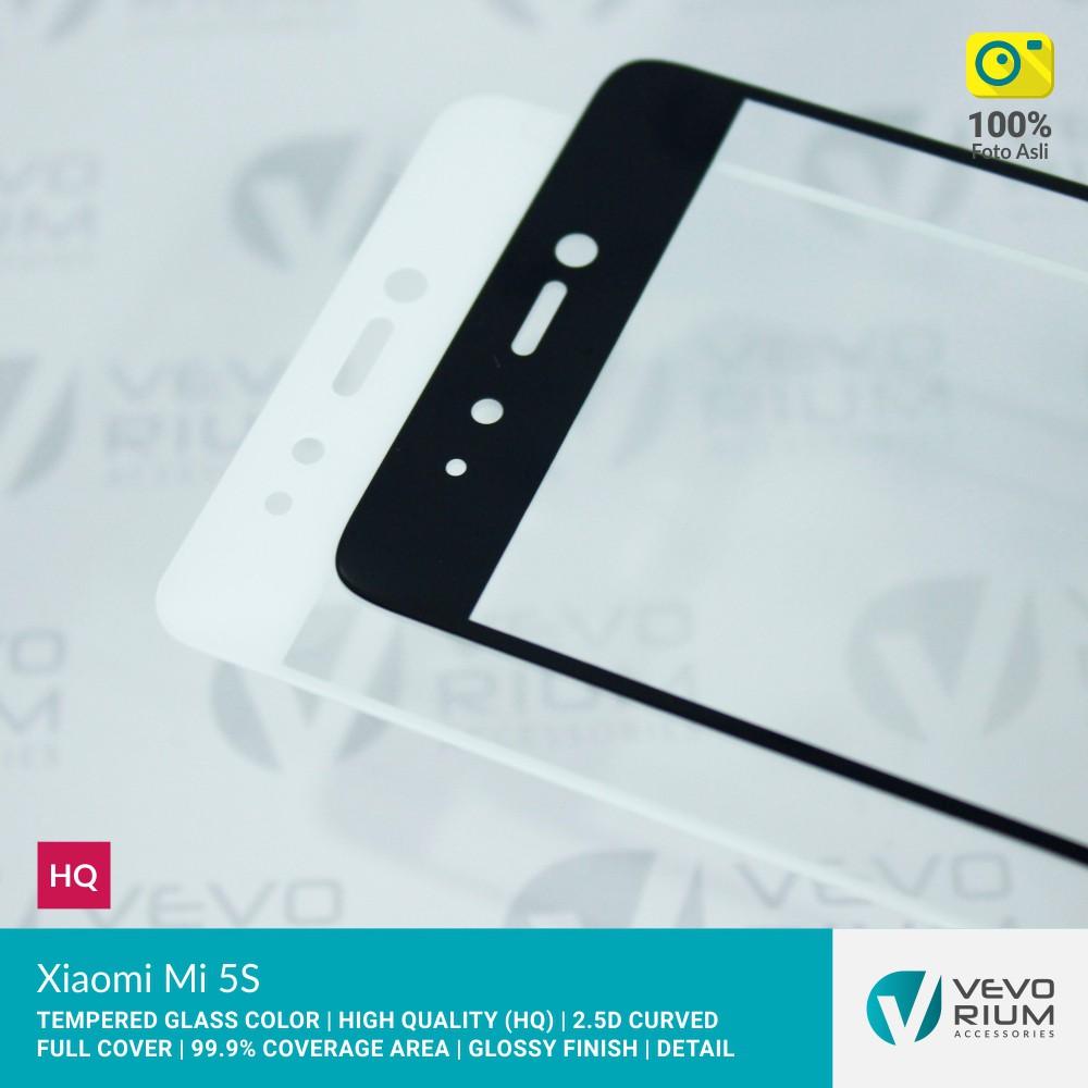 Xiaomi Mi5c Mi 5c Tempered Glass Color 2.5D Full Cover | Shopee Indonesia