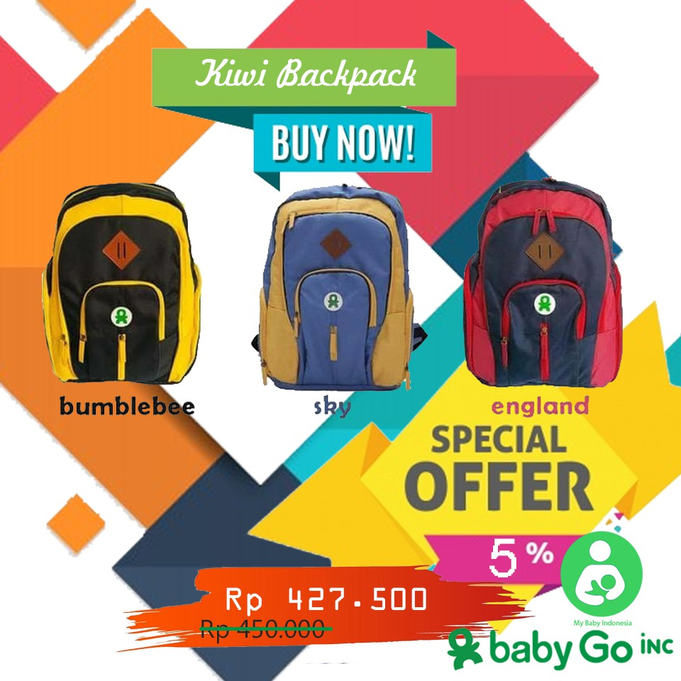 Tas Bayi Cooler Bag Babygo Inc Daftar Harga Metro Backpack Blue Babygoinc Kiwi Bakcpack Diaper