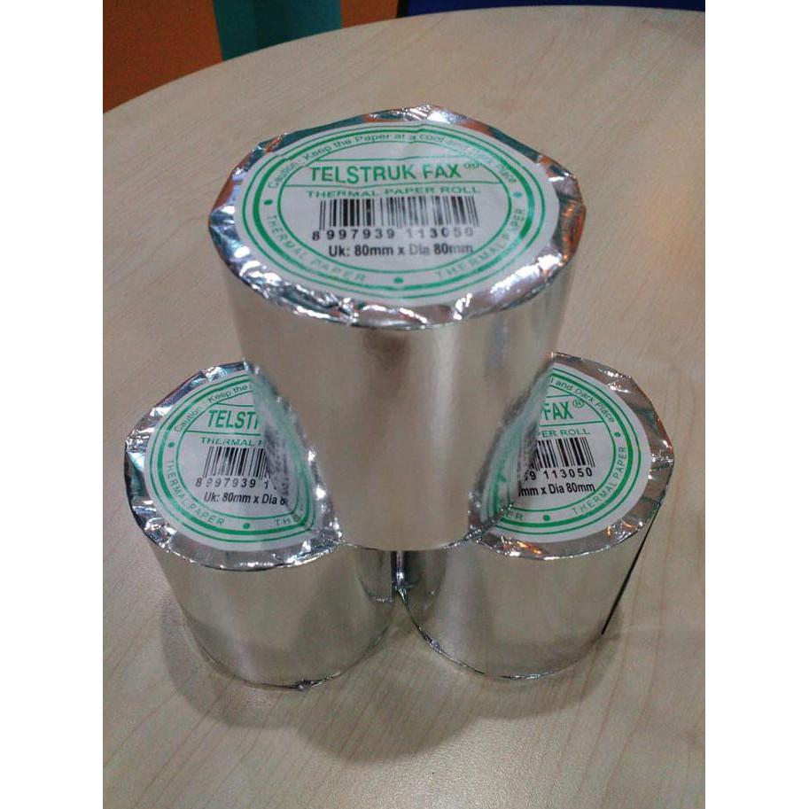 Kertas Struk Thermal Uk 80mm X Merk Otani Shopee Indonesia Kasir 80x40mm Printer Mobile Portabel Isi 10roll