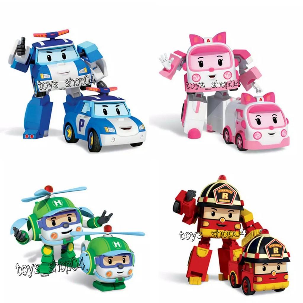 Mainan Anak Laki Laki Mobil Robot Helly Amber Police Car Fire Truck Shopee Indonesia