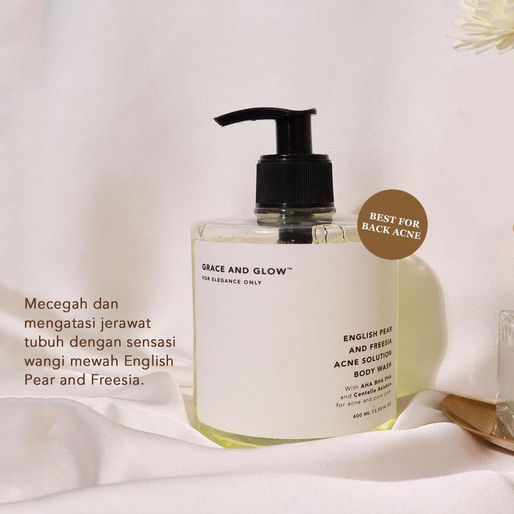 GRACE & GLOW BODY WASH AND SHAMPOO - Jaminan Ori 100%-3