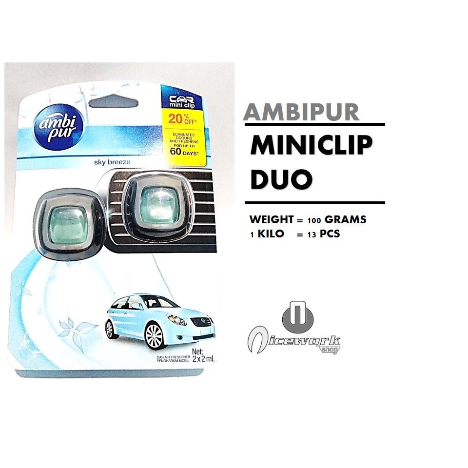 Ambipur Car Sky Breeze Isi 2 Daftar Harga Terlengkap Indonesia Parfum Mobil Pewangi Ambiphur Mini California Scents Dual Skybreeze Shopee