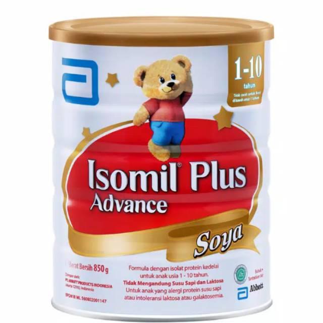 Isomil Plus Advanced 850 gr (>1 tahun) Susu Formula Soya Kedelai | Shopee Indonesia