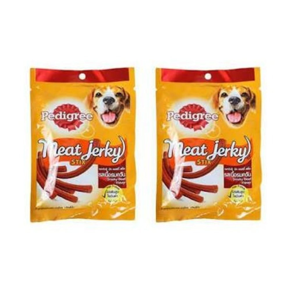 Snack Anjing Pedigree Meat Jerky Beef 60 Gr Shopee Indonesia Makanan Lamb Cemilan