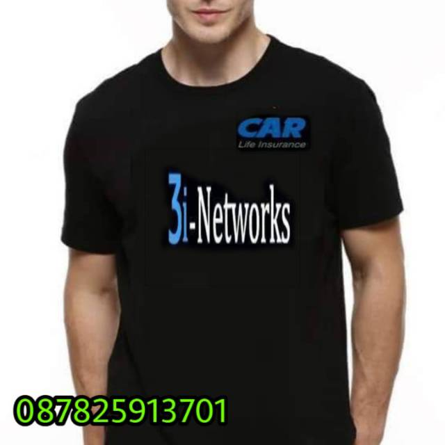 Kaos 3i Networks Car Life Insurance Shopee Indonesia