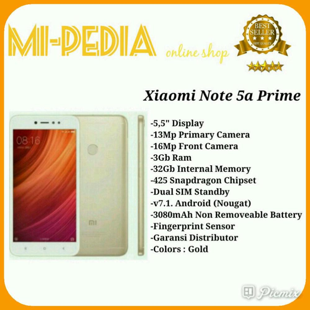 Xiaomi Redmi Note 5a Prime Rose Gold Ram 3gb Rom 32gb Garansi 1 Th 2 16 Resmi Tam Shopee Indonesia