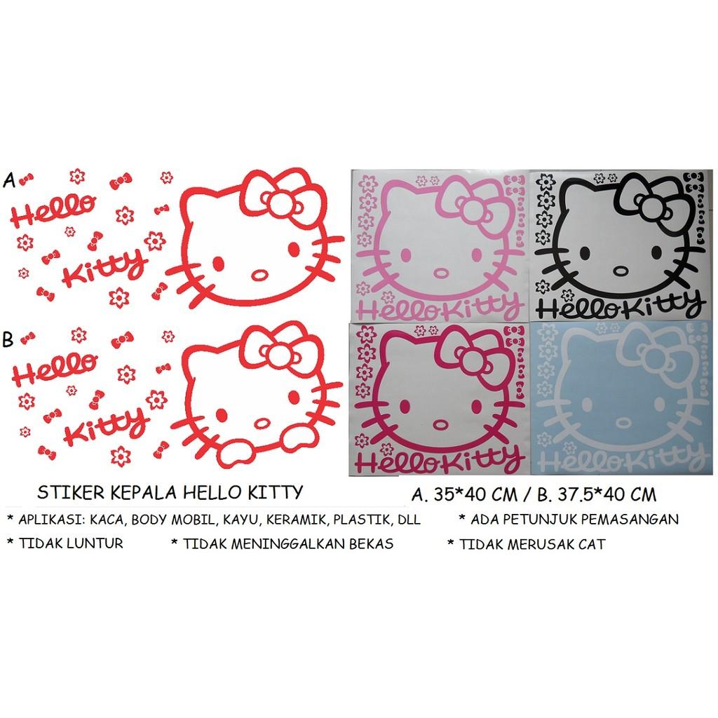 Nail Art Sticker Karakter Hello Kitty Hk 05 Stiker Kuku Fashion A Cutting Label Nama Bulat Shopee Indonesia