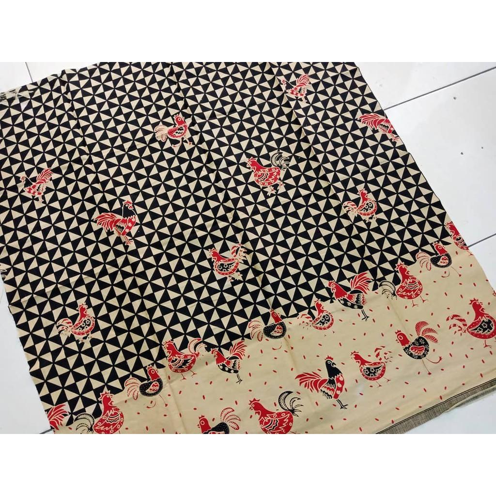 Kain Batik Print Wayang Asli Solo Warna Jarik Murah Motif Shopee Indonesia