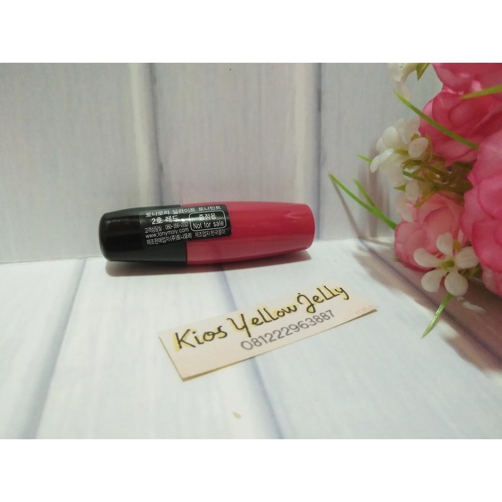 Tony Moly Delight Tint Apple Red Mini Size Shopee Indonesia Liptint