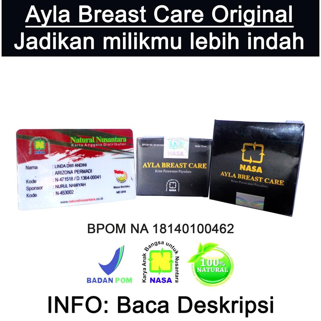 Ayla Breast Care NASA - Krim Perawatan (Pengencang dan Pembesar) Payudara Alami & Sehat | Shopee Indonesia