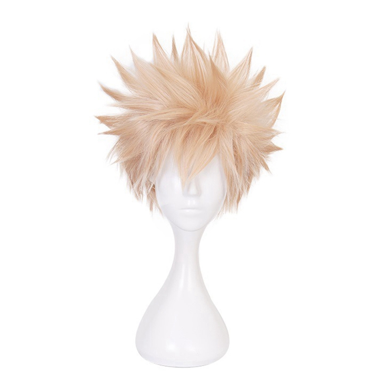 My Hero Academia Bakugou Katsuki Cosplay Wig Short Hair