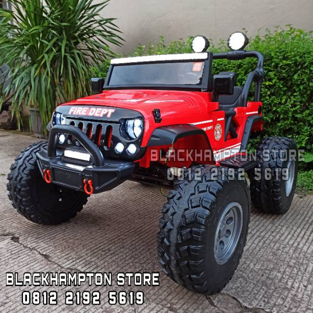 Mobil Aki Mainan Anak Unikid Rubicon UK 782 Monster Truck