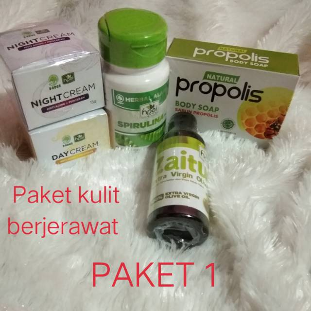 Paket Perawatan Wajah Herbal Halal Lengkap By Hpai Shopee Indonesia
