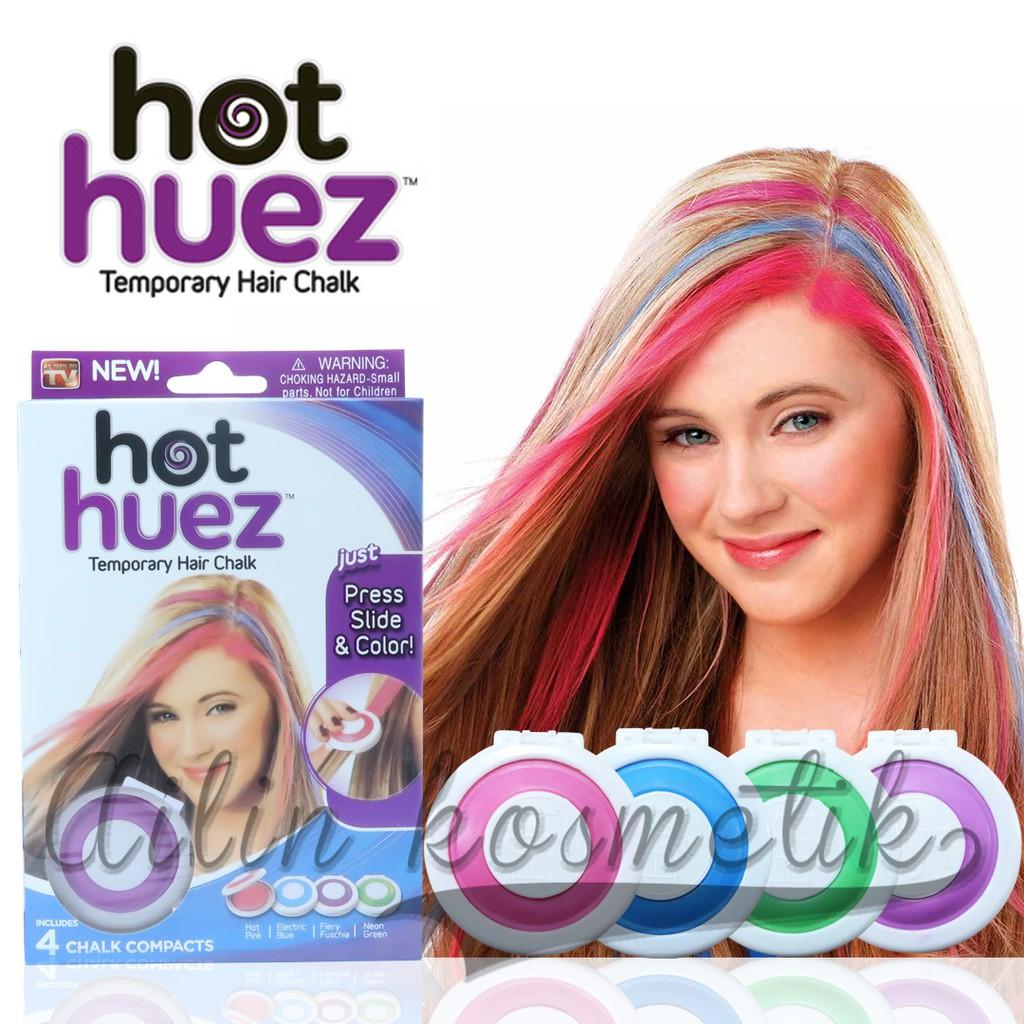 Pewarna Rambut HOT HUEZ TEMPORARY HAIR CHAL AS3969  7a2ef191c9