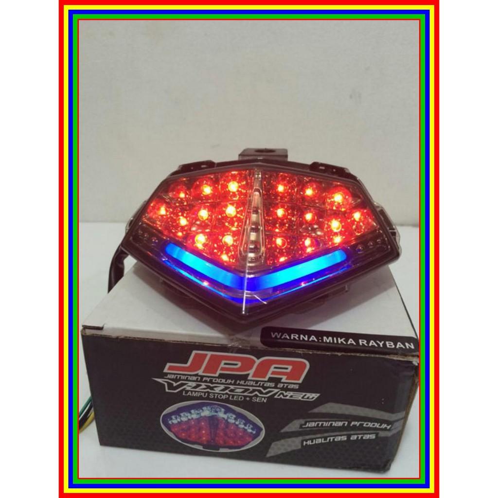 Lampu Stop Led Plus Sen Vixion New Model Terbaru Dengan Neon Jpa Cb 150r Shopee Indonesia