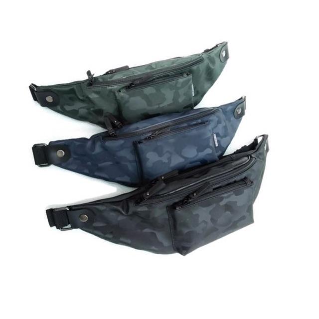 Promo Tas Hoozler Weexler Waist Bag Murah / Jual Waist Bag Cowok Army / Obral Tas ...