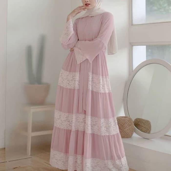 Edisha Dress Berkualitas Shopee Indonesia