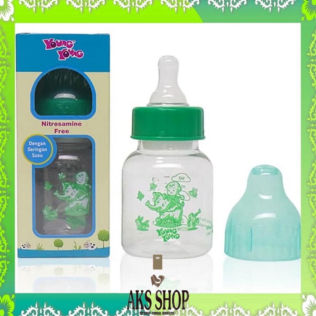 Jual Young Young Botol Susu Il 802 B Baby Bottle 90ml Bpa Free Biru Source. BOTOL ...