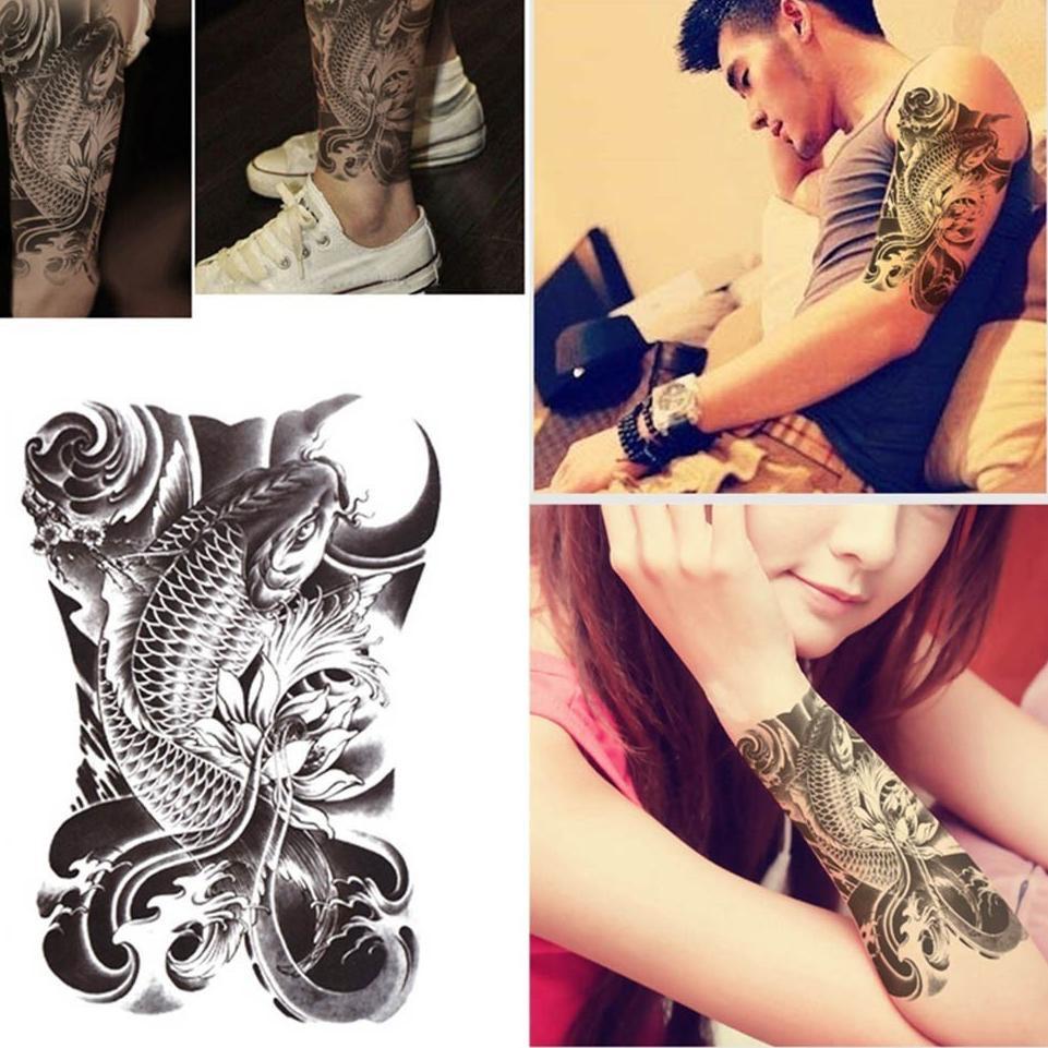 Kode 69 Tato Temporer Gaul Keren Lengan Tangan Temporary Tattoo Stiker Tempel Sticker Tatto Temp Shopee Indonesia