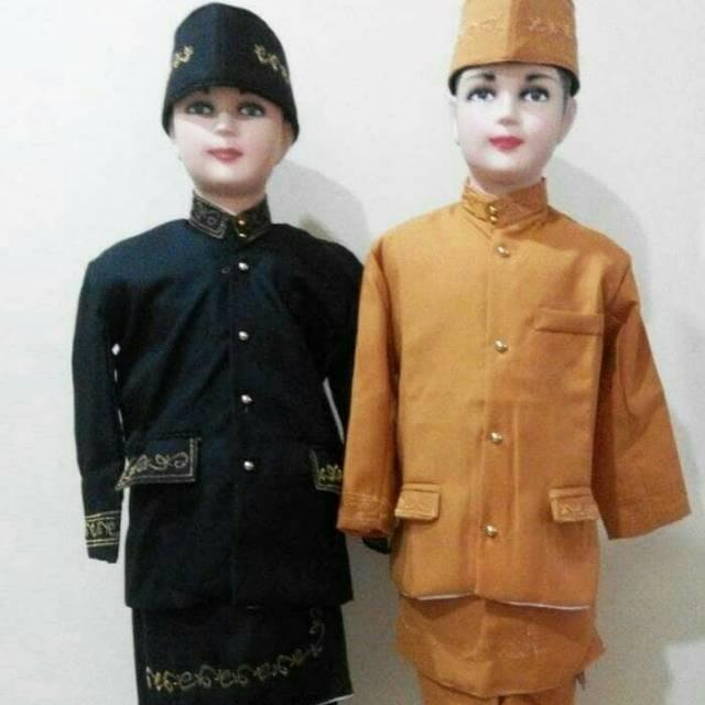 Baiu Betawi Smp Pakaian Adat Sunda Beskap Jawa Beskap Betawi Shopee Indonesia