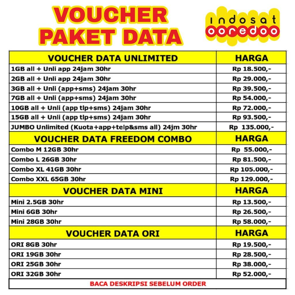 Perdana Indosat Temukan Harga Dan Penawaran Online Terbaik Voucher 25k November 2018 Shopee Indonesia