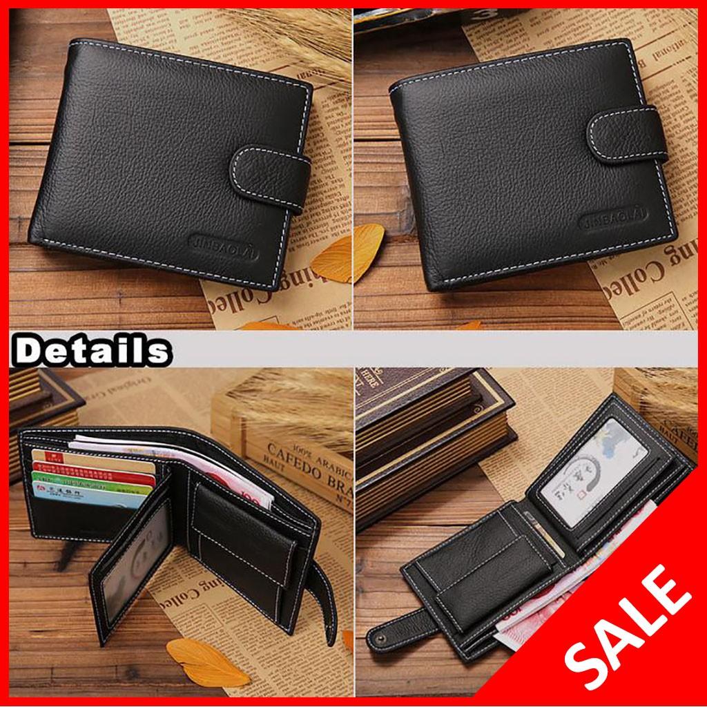 Bogesi Dompet Kulit Pria Short Paragraph Leather Wallet Bogesi836 Biru Shopee Indonesia
