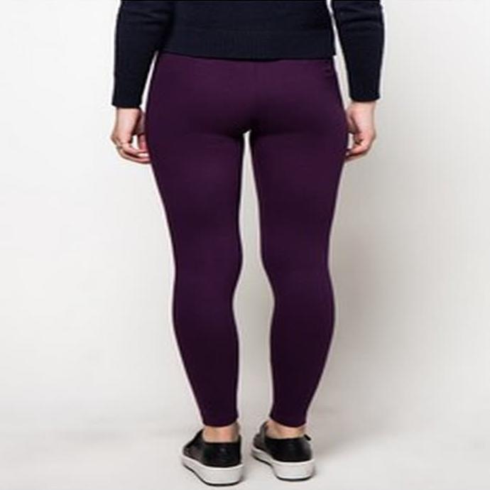 Point One Dark Purple Original Legging Ungu M Shopee Indonesia