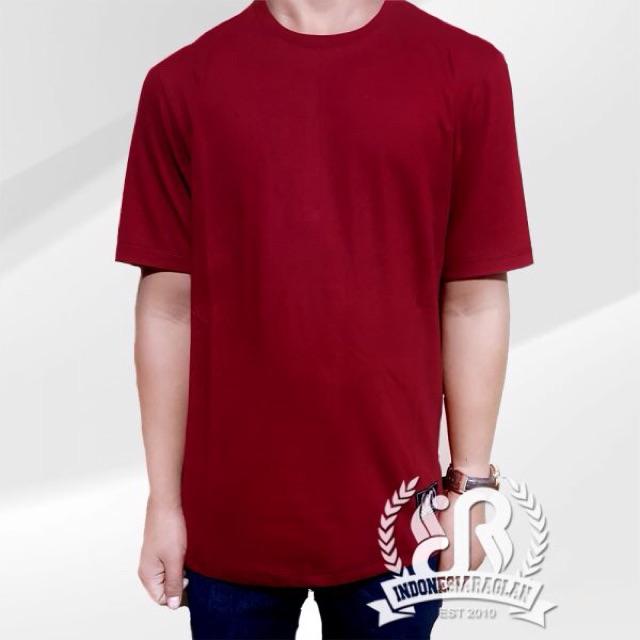 55+ Desain Baju Polos Warna Merah Maroon Gratis Terbaru