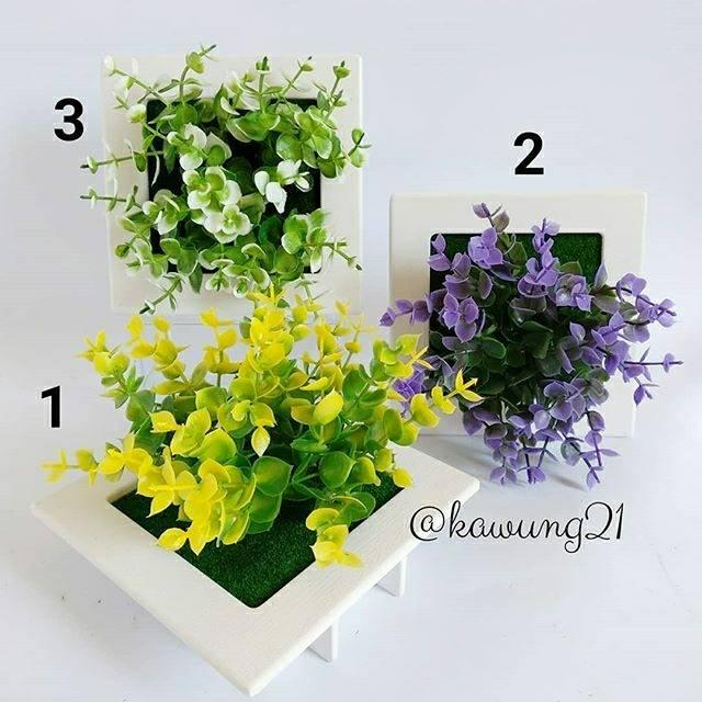 Vas Kotak Love Bunga Cantik Unik Hiasan Dekorasi Meja Rumah Kafe Kantor  Shabby Shabbychic  78f64ce558