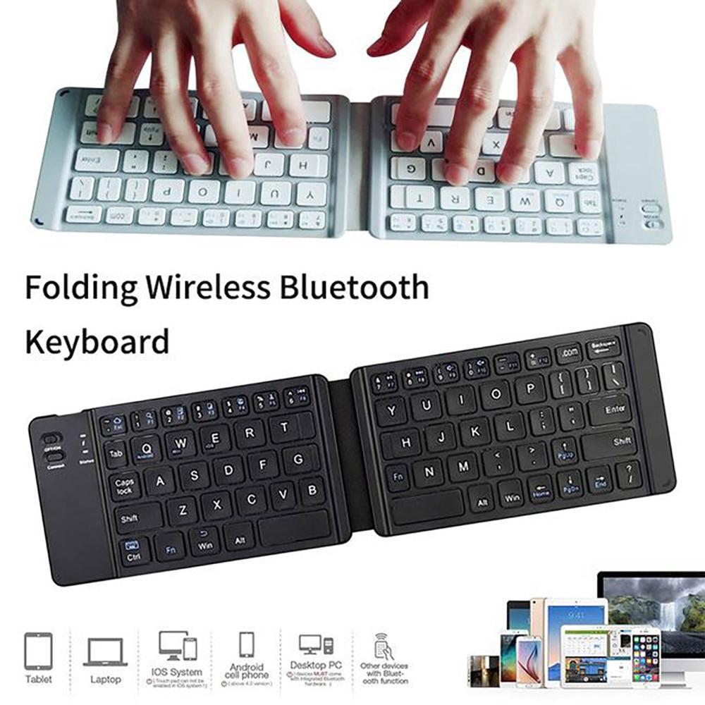 Keyboard Lipat Bluetooth Wireless Bt Untuk Handphone Laptop Gaming Shopee Indonesia