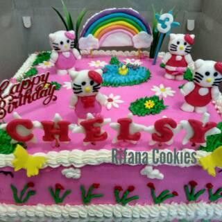 Kue Ulang Tahun Hello Kitty Shopee Indonesia