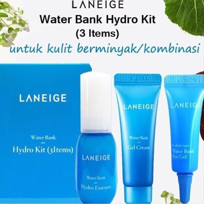 Promo Laneige Water Bank Hydro Kit 3 Items Diskon Shopee Indonesia