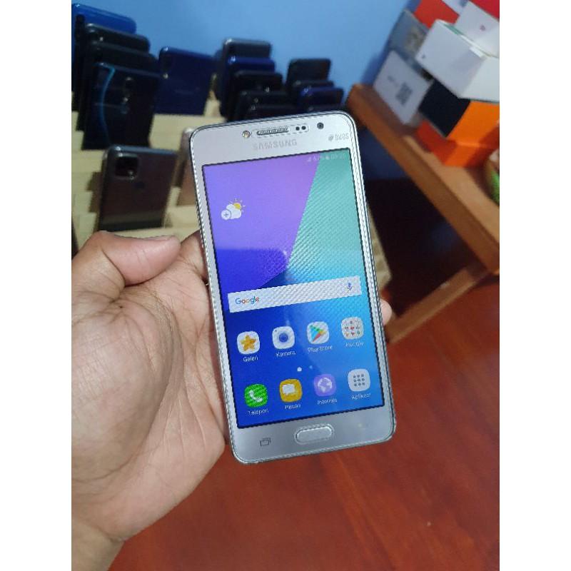 Handphone Hp Samsung Galaxy J2 Prime Ram 1.5/8 Second Seken Bekas Murah
